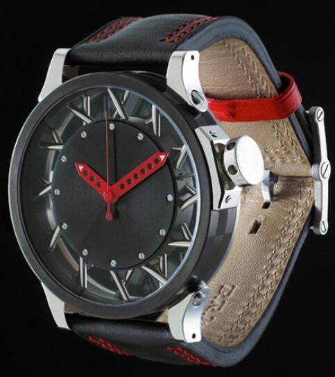 B.R.M Watches Replica Watch B.R.M W50 VINTAGE W50-TNI Black PVD Titanium and Stainless Steel
