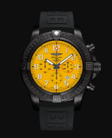 Replica Breitling Avenger Hurricane 12h Breitlight - Yellow Watch XB0170E41I1S1