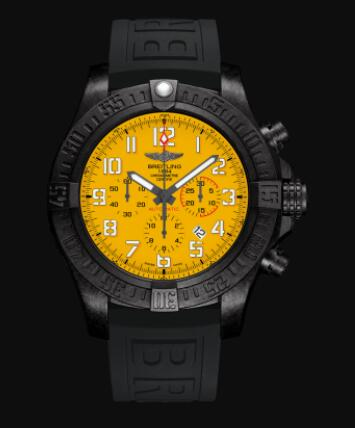 Replica Breitling Avenger Hurricane 12h Breitlight - Yellow Watch XB0170E41I1S2