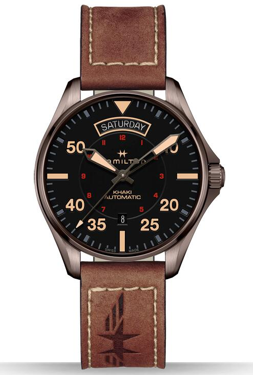 replica Hamilton Khaki Pilot Day Date H64605531 watch online