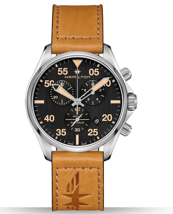 best Hamilton Khaki Pilot Air Race Chrono H76722531 replica watches