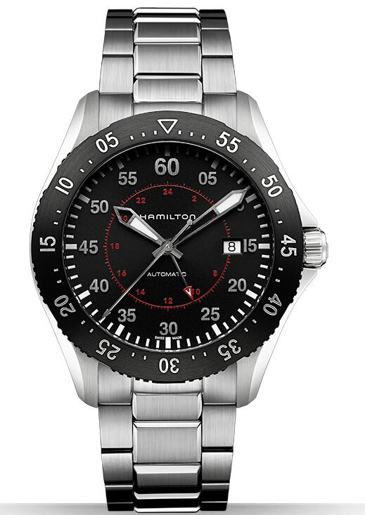 fake Hamilton Khaki pilot GMT H76755135 watches review
