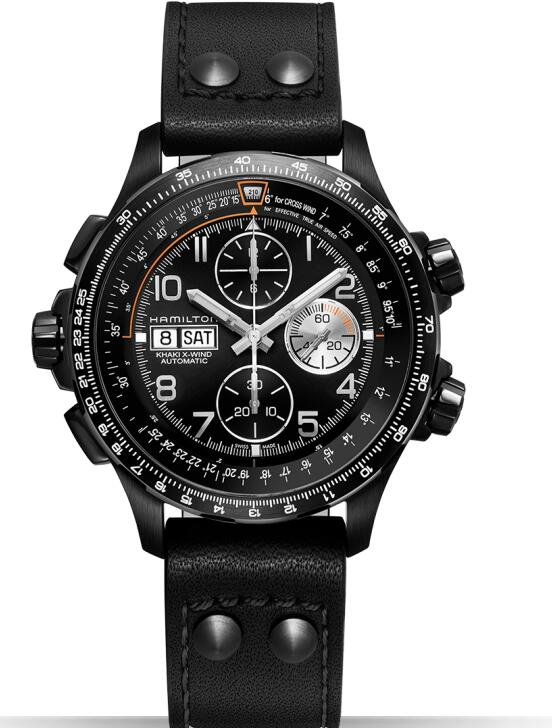 Hamilton Khaki X-Wind Auto Chrono H77736733 watch review