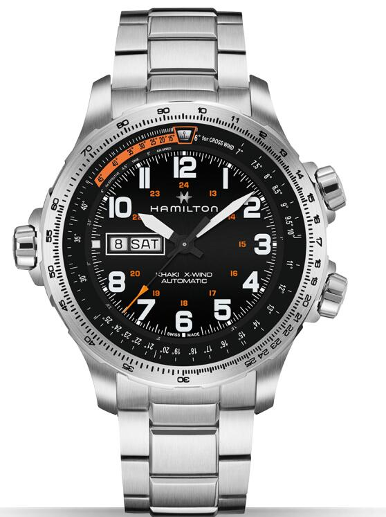 Hamilton Khaki X-Wind Day Date H77755133 replica watch