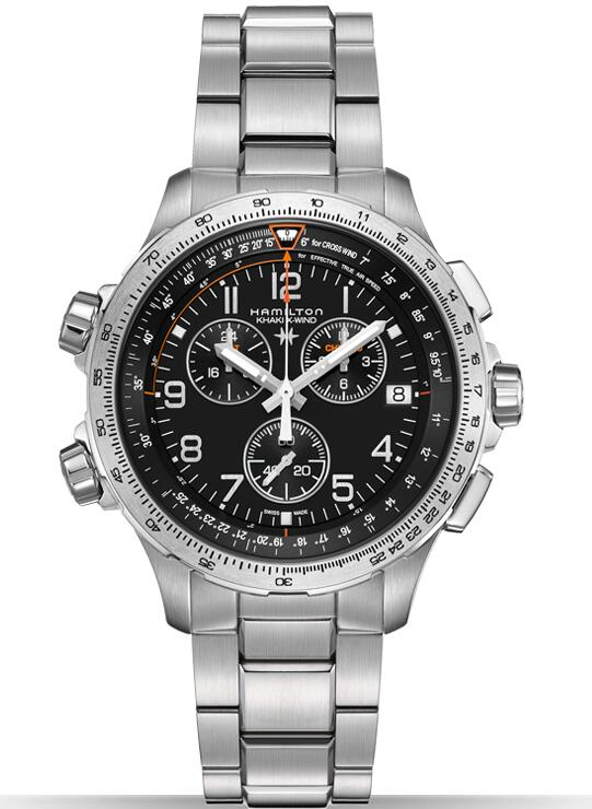 Hamilton Khaki X-Wind Chrono GMT H77912135 Men's Watch
