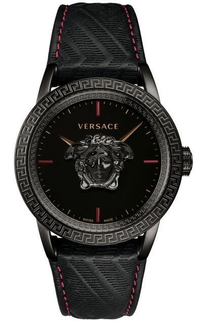 Versace Palazzo Empire VERD00218 Black Leather 43mm watch Price